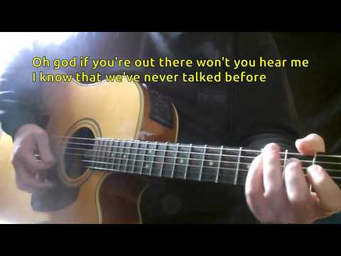 Sarah McLachlan - Hold On KARAOKE GUITAR REQUEST
