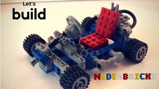 Let's build Lego 1972 Technic Go-Kart