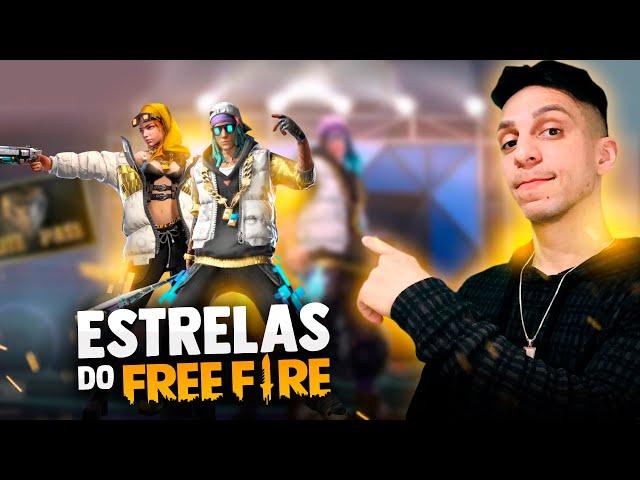 🔥 FREE FIRE AO VIVO 🔥 SKIN ESTRELAS DO FREE FIRE 🔥 SOLO RANKED 🔥EVENTO HALLOWEEN🔥
