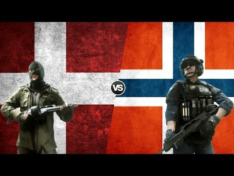 DENMARK VS NORWAY - Military Power Comparison 2017