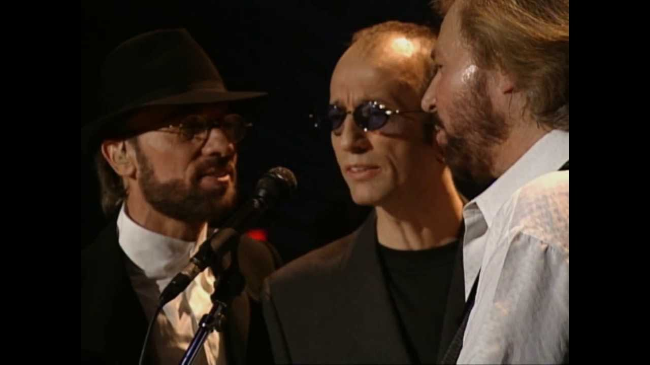 Bee Gees Too Much Heaven Live In Las Vegas 1997 One Night Only Youtube
