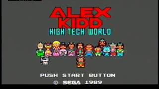 Alex Kidd: High Tech World (Anmitsu Hime) - SEGA Master System - VGDB