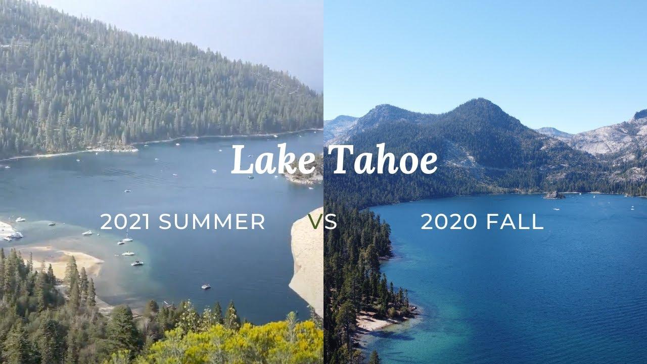 Smoke at Lake Tahoe | 2021 Summer (No Filter Added)
