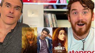 Sadak 2 Trailer REACTION!! Sanjay Dutt   Pooja   Alia   Aditya   Mahesh Bhatt