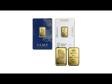 10g PAMP Suisse 24K Gold Ingot