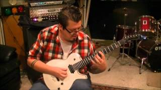 How to play Cry Of The Blackbirds by Amon Amarth on guitar by Mike Gross