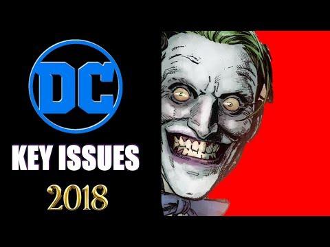 DC Comics 1st Appearances Published In 2018. Part 1