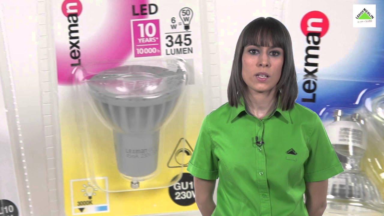 C mo elegir bombillas reflectoras o dicroicas leroy for Bombillas led g9 leroy merlin