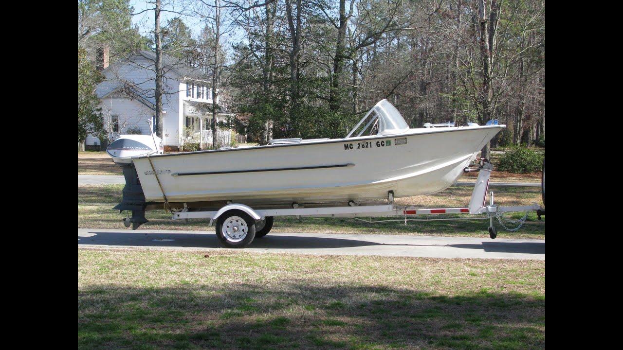 Vintage Fiberglass Runabout Boats