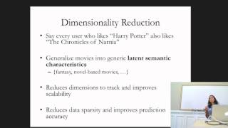 Lecture 12 -Analyzing Big Data with Twitter: Recommender Systems by Alpa Jain