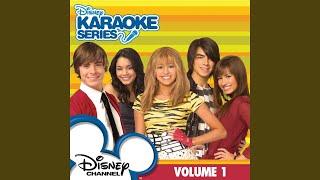 Play Start of Something New (karaoke version)