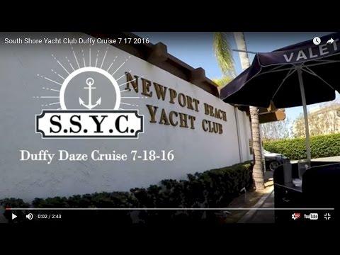 South Shore Yacht Club Duffy Cruise 7 17 2016
