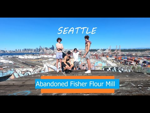 Abandoned Fisher Flour Mill Adventure