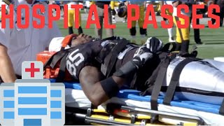 NFL SCARY Hospital Passes