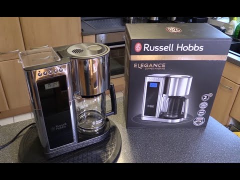 Russel Hobbs 23370-56 Elegance Filterkaffeemaschine - TEST