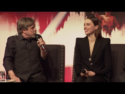 STAR WARS THE LAST JEDI European Press Conference Cast Interviews