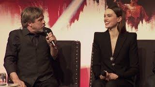Star Wars The Last Jedi European Press Conference Cast Interviews thumbnail