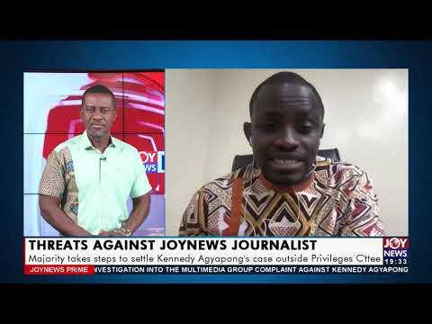 Majority takes steps to settle Kennedy Ayapong's case - Joy News Prime (16-7-21)