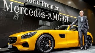 World Premiere: Mercedes AMG GT | Review | Model 2015