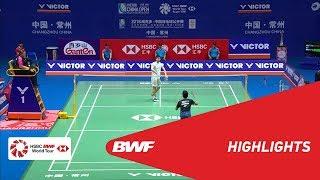 VICTOR CHINA OPEN 2018 | Badminton MS - SF - Highlights | BWF 2018