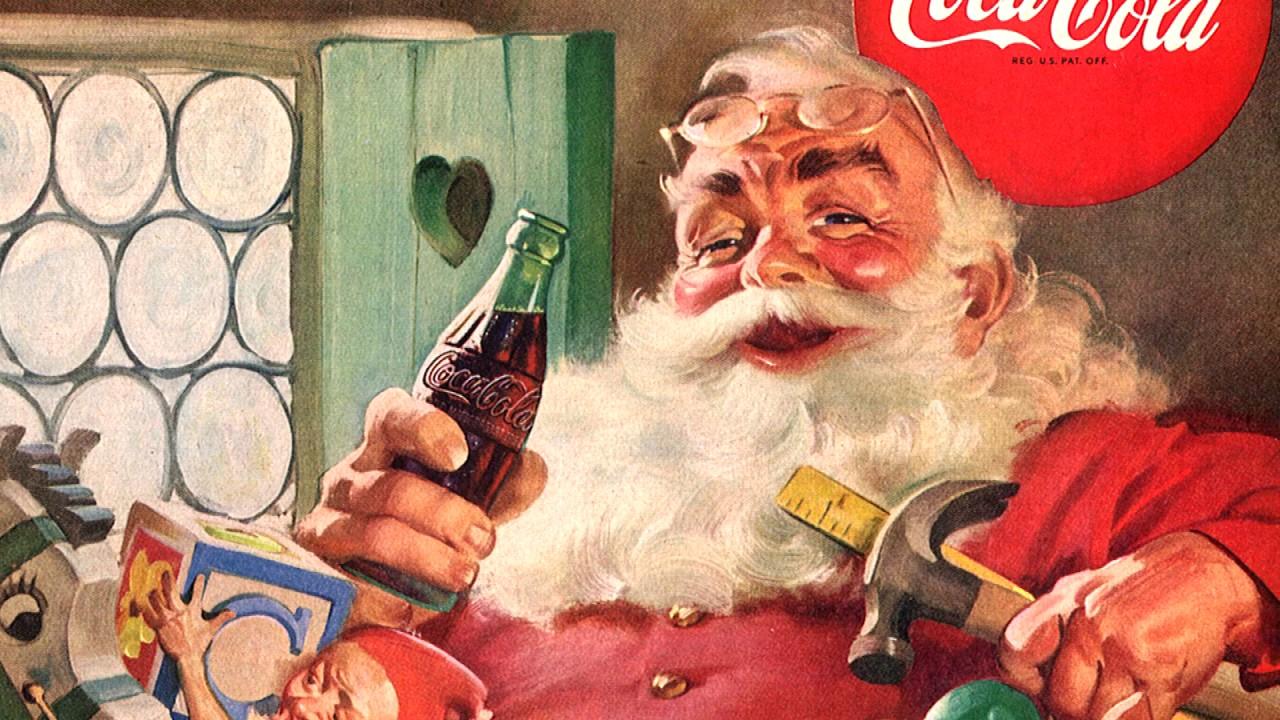 Coca Cola Werbung Weihnachten.Die Wahrheit Uber Den Weihnachtsmann Coca Cola Journey