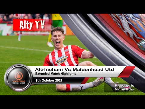 Altrincham Maidenhead Goals And Highlights