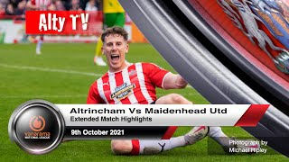 Алтринчем  2-0  Мейденхед Юнайтед видео