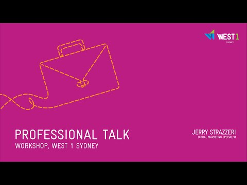 WEST 1 Professional Talk | Digital Marketing Specialist