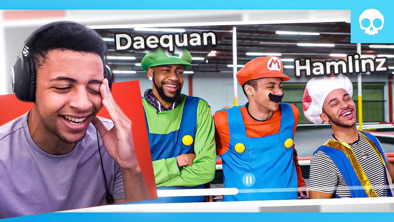 Reacting to Go-Karts w/ Daequan & Hamlinz (Old TSM Vlogs)