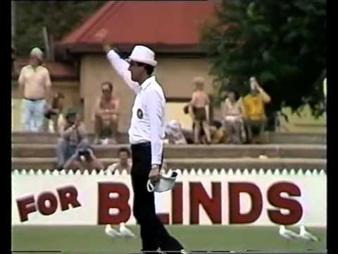 Sandeep Patil 174 vs Australia 1980/81 1st test