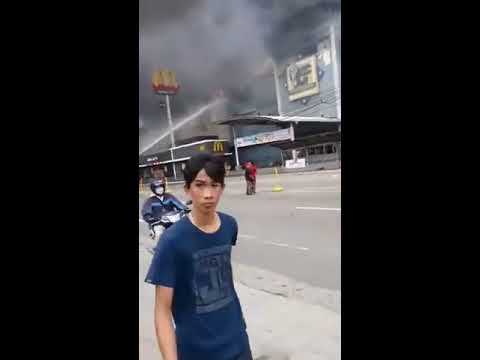 Fire Accident NCCC Mall Maa, Davao City