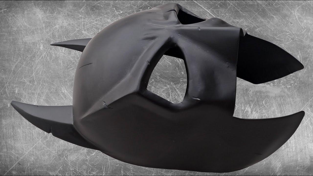 Making A Metal Batman Mask Youtube