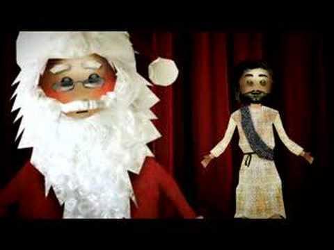 jesus and santa - Jesus And Santa