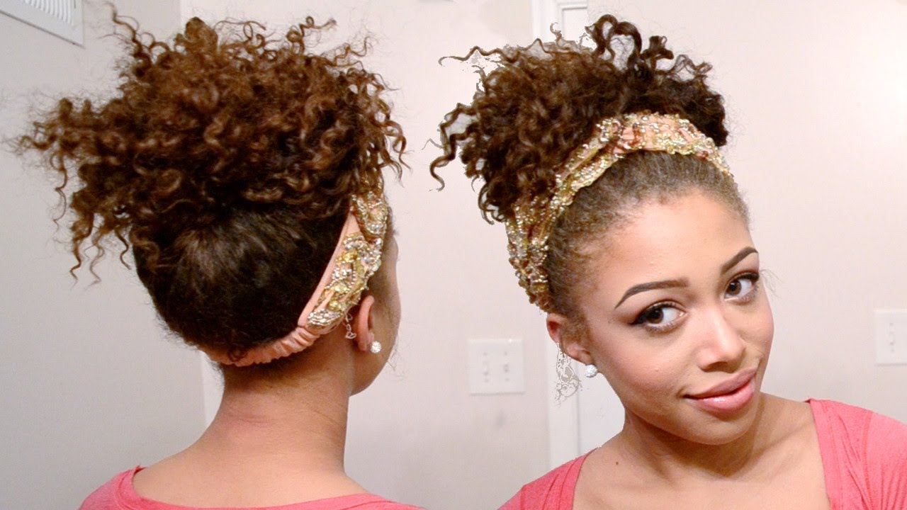 36 Messy Wedding Hair Updos: Messy, Curly Updo Tutorial