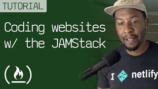 JAMstack Tutorial - Full site using Netlify & Hugo
