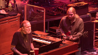 "The Allman Brothers Band performs ""Trouble No More"" on December 3, ..."