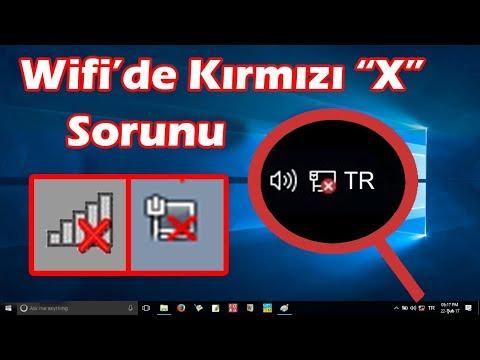 #1. WIFI BAGLANTISI INTERNET SORUNU COZUMU - (LAPTOP)