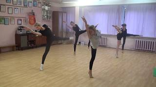 10.09.17. Tver Youth Ballet Академия СК Балета. урок джаз-модерна, фрагмент