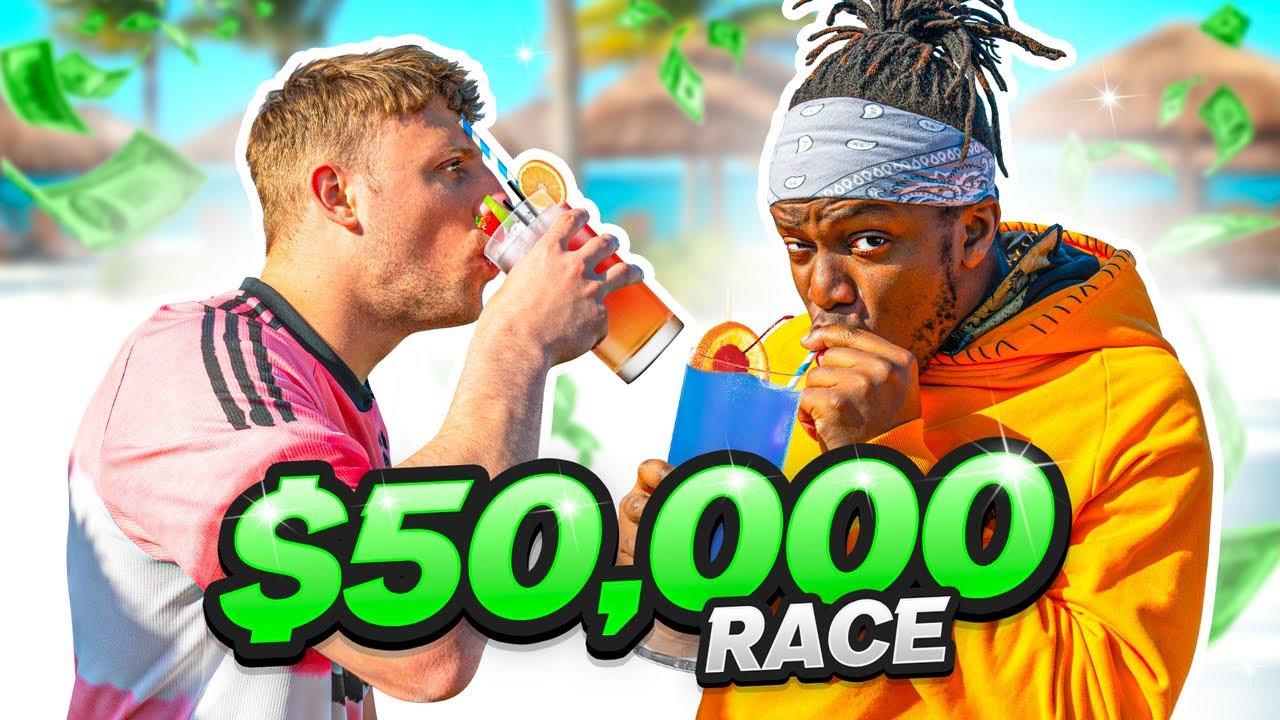 SIDEMEN $50,000 A-Z DRINKING CHALLENGE (GONE WRONG)