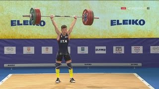 2017 European Weightlifting Championships Men 56 kg \ Тяжелая атлетика Чемпионат Европы [1080]