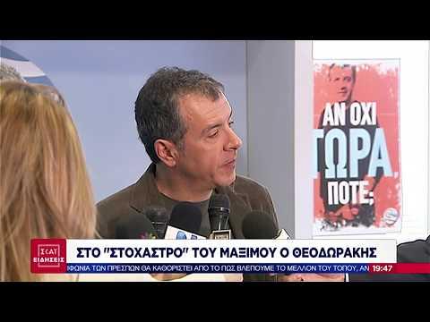 ΣΚΑΪ Ειδήσεις | Στο στόχαστρο του Μαξίμου ο Θεοδωράκης | 09/12/2018