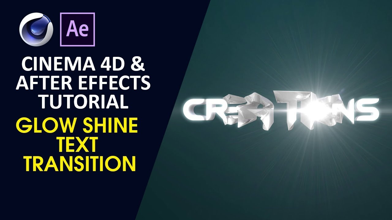 Shine logo animation in after effects after effects tutorial.