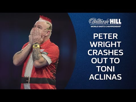 Peter Wright Crashes out of the 2018/19 World Darts Championship