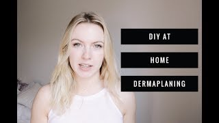 How I Dermaplane My Face At Home