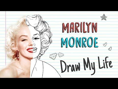 MARILYN MONROE 💋 | Draw My Life