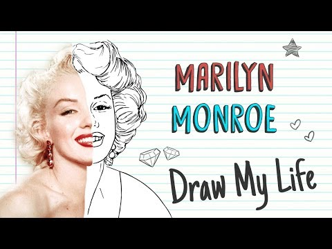 MARILYN MONROE 💋  Draw My Life