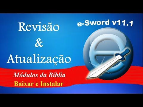 Tutorial Bíblia E Sword Em Português, Como Baixar E Instalar Os Módulos Em Português - REVIEW