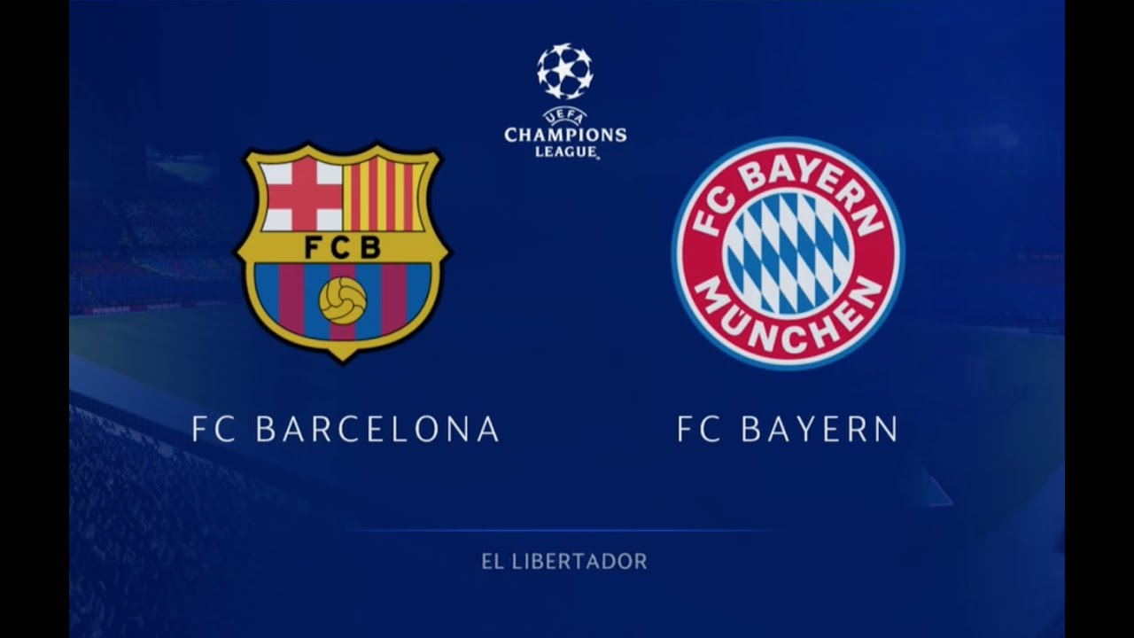 Download FC Barcelona vs Bayern Munich Champions League Full Match - #Fifa20 Gameplay