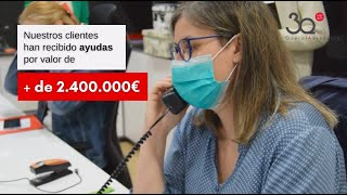 +2.400.000€ en ayudas tramitadas