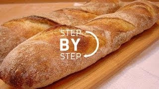 French Bread, French Bread Recipe, French Bread Baking, How to Make French Bread  (Part 1)